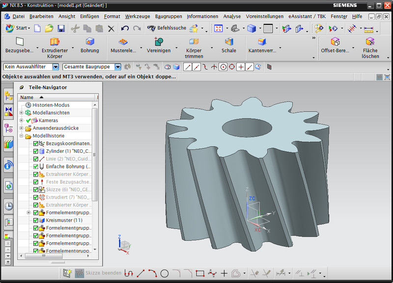 GWJ eAssistant: CAD Plugin for NX (Unigraphics)