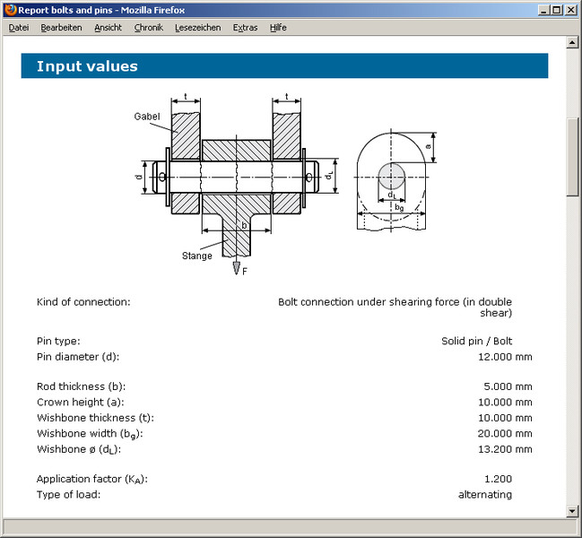 GWJ eAssistant: Bolts and pins