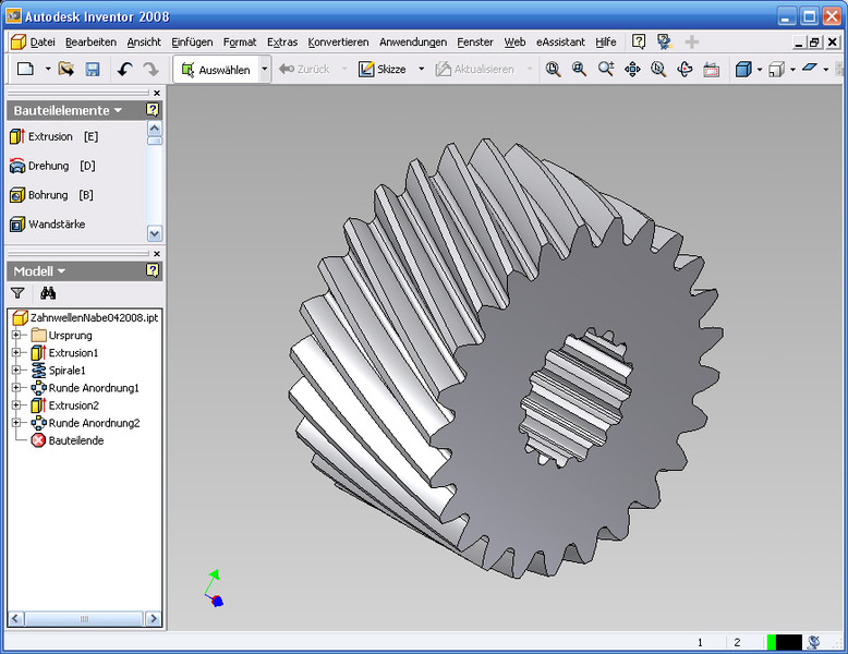 GWJ eAssistant: CAD-PlugIn für Autodesk Inventor